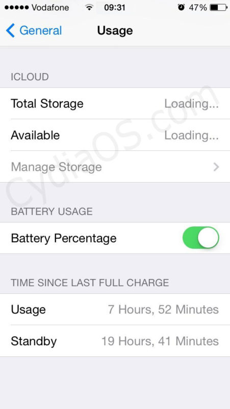 Improve iPhone Batter iOS 7.1.1