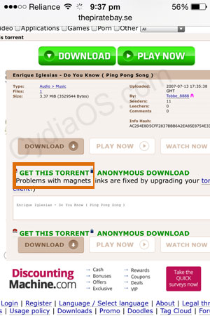 download torrents ipad