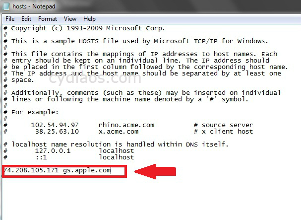 error 3194 in windows